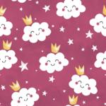 loneta infantil nubes