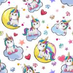 loneta unicornios