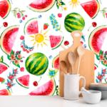 Loneta estampado frutas
