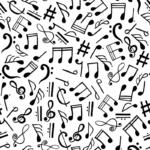 loneta notas musicales
