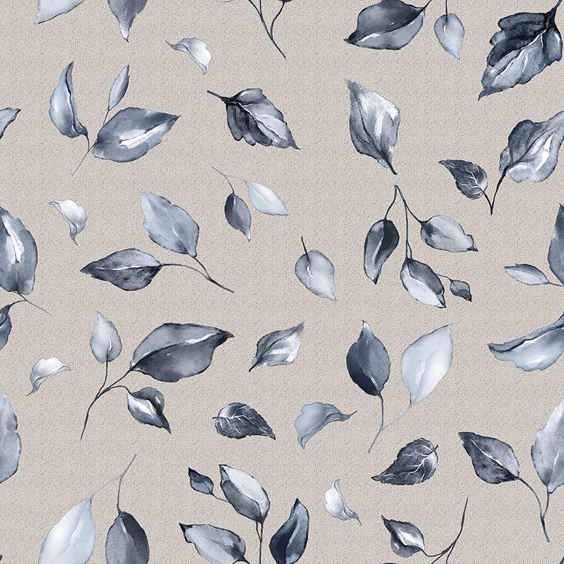 textil hogar loneta hojas