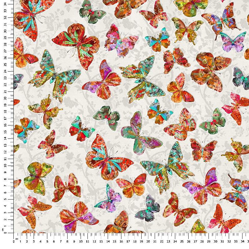 loneta mariposas