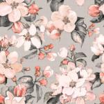 loneta de flores tela decoración textil hogar
