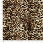 tela estampado tigre animal print