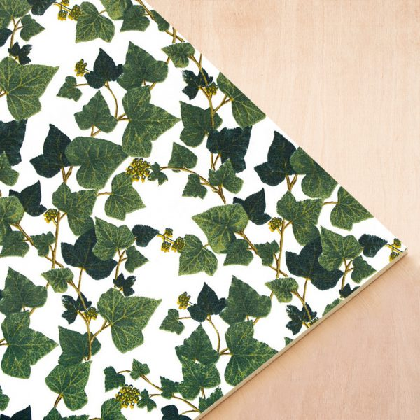 Loneta Foam - Edera 701 - Diseño hiedra enredadera verde