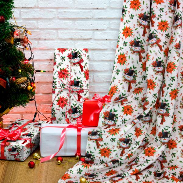 telas de navidad