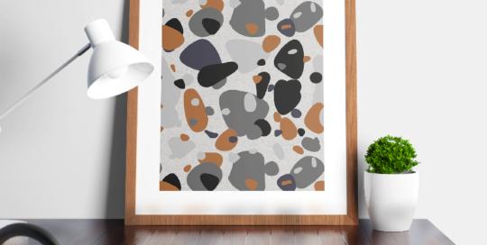 loneta estampada colores variados con estampado