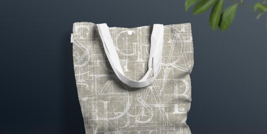 Tela de algodón gruesa para bolsos culla